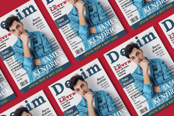 Denim magazine cover