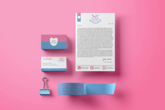 Smile Style business collateral