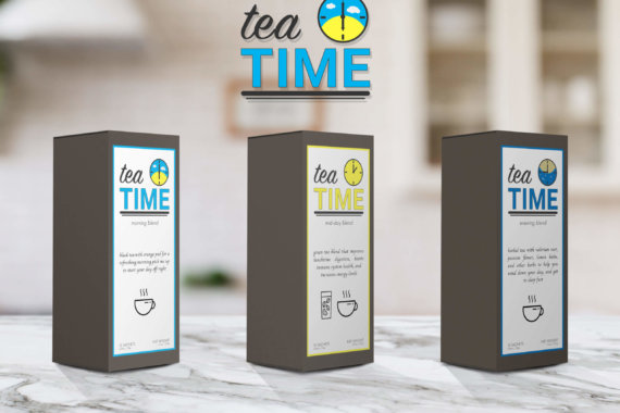 Tea Time packaging